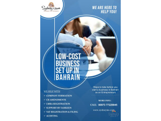 Low Cost Business Set up In Bahrain