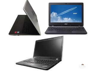 Refurbished ex UK Laptops comes with 3 free games
