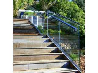 Great looks and durability – Frameless glass balustrades gives you all