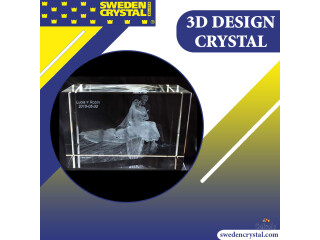 Clueless about what to gift to a friend? Gift her 3D Design Crystal glass blocks