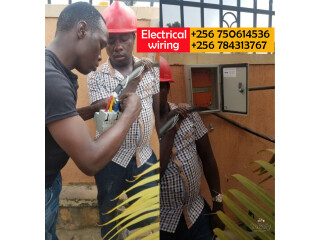 Authorized electricians in electrical wiring in Kampala