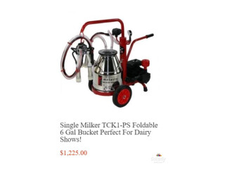 Portable cow milker - mittysupply